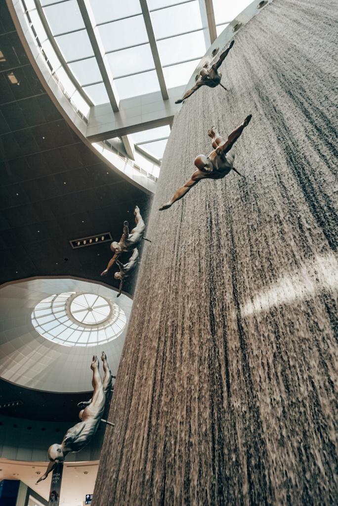The Dubai Mall Waterfalls