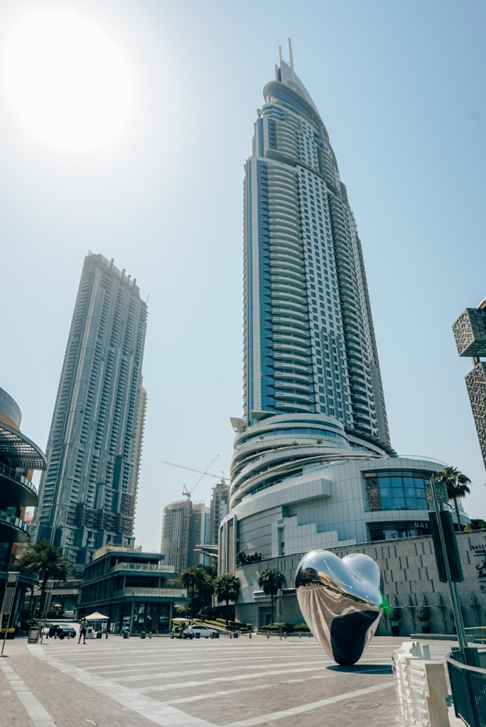 Wolkenkrabbers van centrum Dubai