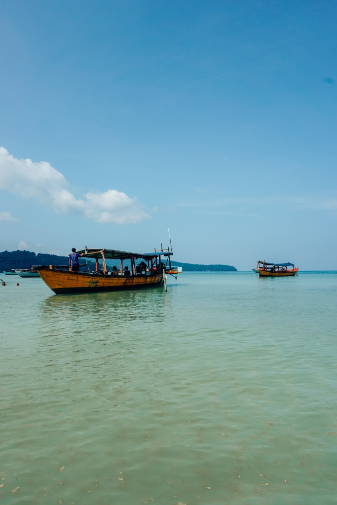 Koh Rong Samloen eiland