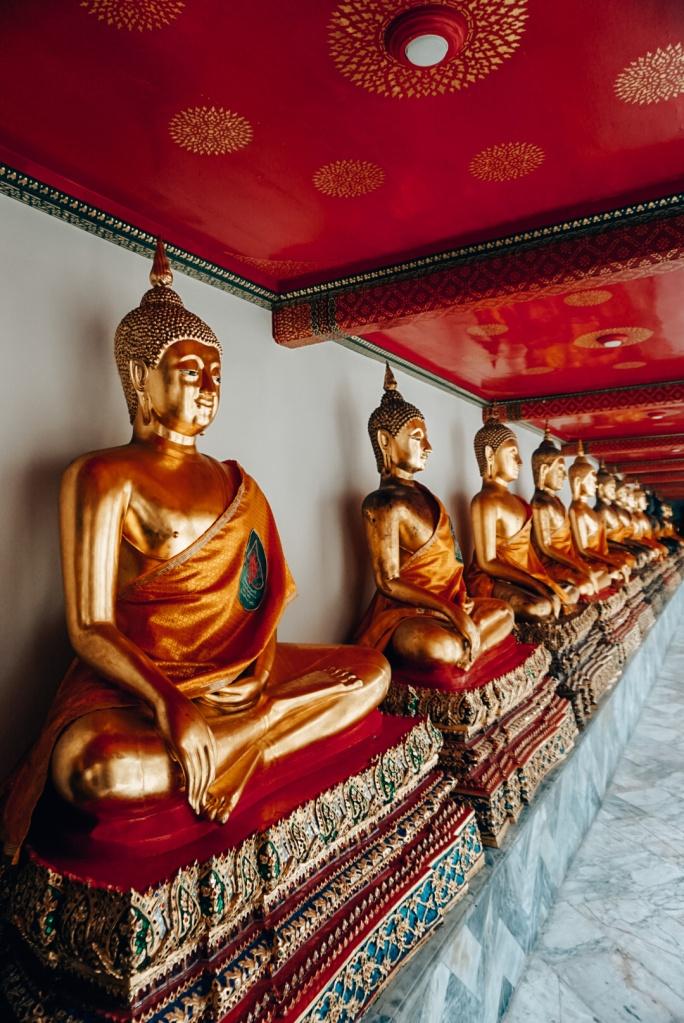 Wat Pho Tempel Bangkok, Thailand