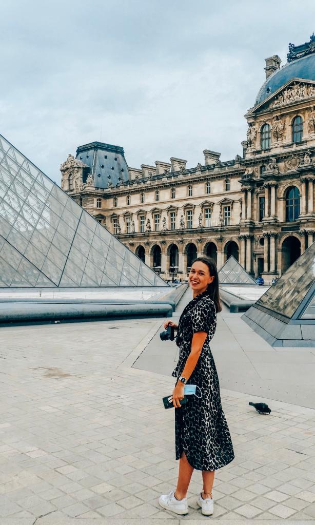 Louvre Museum in Parijs, Frankrijk