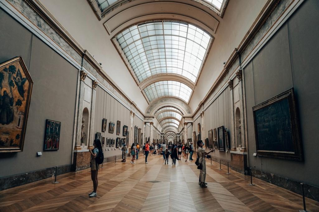 Museum Louvre binnen